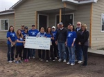 NebraskaLand National Bank supports Habitat for Humanity